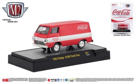 M2-Machines-Coca-Cola-Series-1964-Dodge-A100-Panel-Van