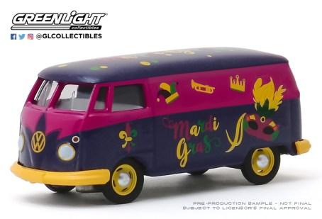 GreenLight-Collectibles-Volkswagen-Type-2-Panel-Van-Mardi-Gras-2020