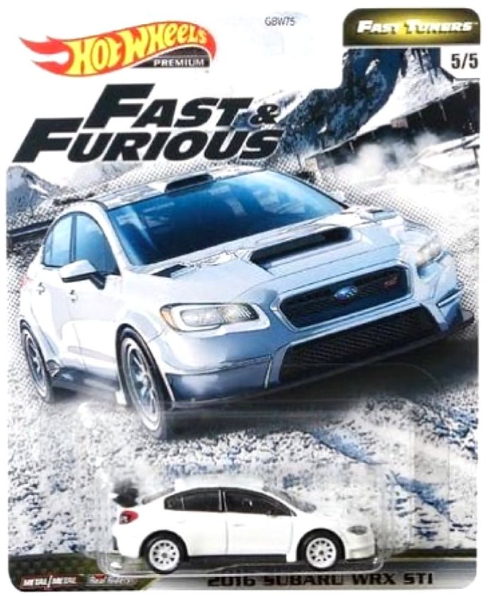 Hot-Wheels-2020-Mix-Fast-And-Furious-Fast-Tuners-2015-Subaru-Impreza-WRX-STi