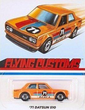 Hot-Wheels-Flying-Customs-2020-71-Datsun-Bluebird-510