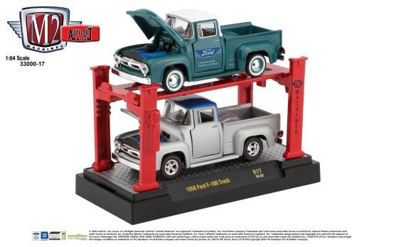 M2-Machines-Auto-Lift-1956-Ford-F-100-Truck