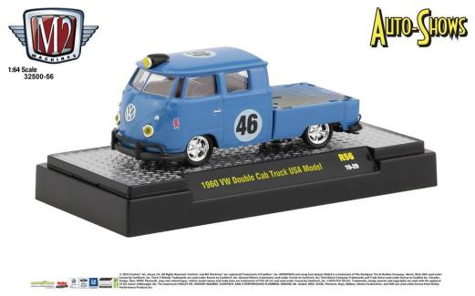 M2-Machines-Auto-Shows-1960-VW-Double-Cab-Truck-USA-Model