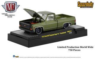 M2-Machines-Squarebody-Syndicate-Walmart-1973-Chevrolet-Cheyenne-Super-10-Greenbeans-Chase