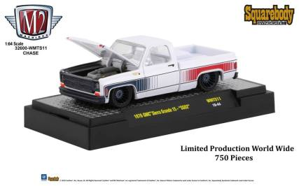 M2-Machines-Squarebody-Syndicate-Walmart-1976-GMC-Sierra-Grande-15-SS02-Chase