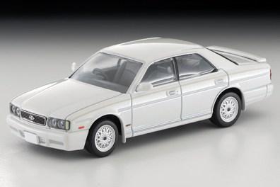 Tomica-Limited-Vintage-Nissan-Gloria-Gran-Turismo-Altima-Type-X-blanche-001