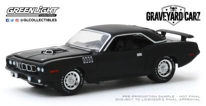 GreenLight-Collectibles-Hollywood-27-1971-Plymouth-HEMI-Cuda-Graveyard-Carz