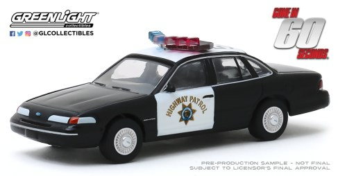 GreenLight-Collectibles-Hollywood-27-1992-Ford-Crown-Victoria-Police-Interceptor-Gone-in-Sixty-Seconds