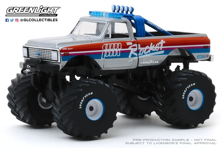 GreenLight-Collectibles-Kings-of-Crunch-6-Rocket-1972-Chevy-K-10