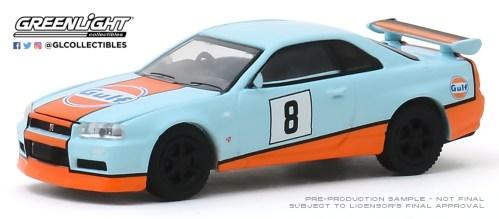 GreenLight-Collectibles-Tokyo-Torque-8-2001-Nissan-Skyline-GT-R-R-34