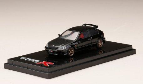 Hobby-Japan-Honda-Civic-Type-R-EK9-Custom-Version-Carbon-Bonnet-Starlight-Black-Pearl-001