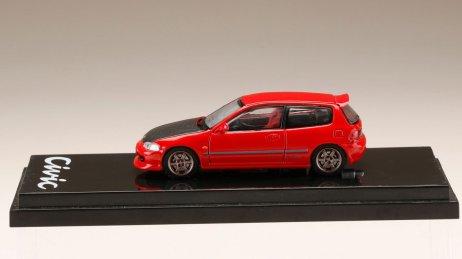 Honda-Civic-EG6-Custom-Version-Carbon-Bonnet-Red-003
