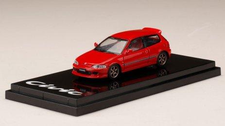 Honda-Civic-EG6-Custom-Version-Red-001