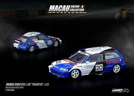 Inno-64-Macau-Grand-Prix-2019-Special-Honda-Civic-EF3-20-Trampio-Macau-Guia-Race-1990-T-Tsutsumi