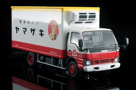 Tomica-Limited-Vintage-Neo-Isuzu-Elf-Panel-Van-Yamazaki-Baking-008