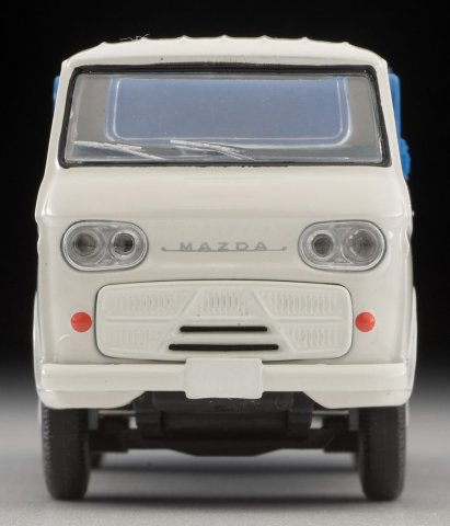 Tomica-Limited-Vintage-Neo-Mazda-E2000-cleaning-truck-Blanc-bleu-004
