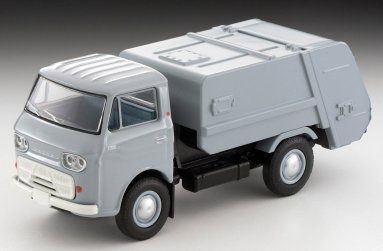 Tomica-Limited-Vintage-Neo-Mazda-E2000-cleaning-truck-Gris-002