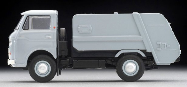 Tomica-Limited-Vintage-Neo-Mazda-E2000-cleaning-truck-Gris-006