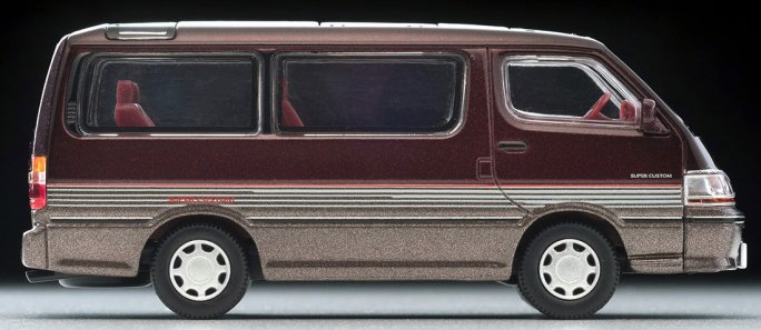 Tomica-Limited-Vintage-Neo-Toyota-Hiace-Super-Custom-rouge-fonce-marron-006
