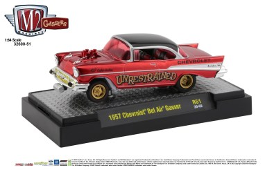 M2-Machines-Gasser-Release-1957-Chevrolet-Bel-Air-Unrestrained-427-Cubic-Inches