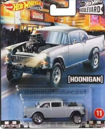 Hot-Wheels-Premium-Boulevard-Series-Mix-3-55-Chevy-Bel-Air-Gasser