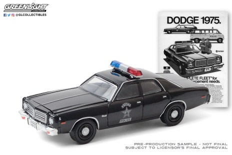 GreenLight-Collectibles-Vintage-Ad-Cars-3-1975-Dodge-Coronet-State-Police