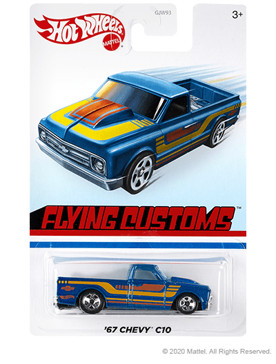 Hot-Wheels-2020-Flying-Customs-Mix-2-Target-67-Chevy-C10