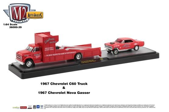 M2-Machines-Auto-Haulers-39-1967-Chevrolet-C60-Truck-1967-Chevrolet-Nova-Gasser-Edelbrock