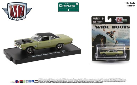 M2-Machines-Drivers-Release-67-1969-Plymouth-Road-Runner-440-6-Pack