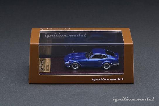 Ignition-Model-Nissan-Fairlady-Z-S30-bleu-002