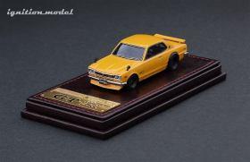 Ignition-Model-Nissan-Skyline-2000-GT-R-KPGC10-jaune-001