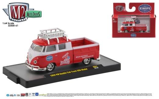 M2-Machines-Auto-Trucks-61-1959-VW-Double-Cab-Truck-USA-Model