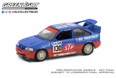 GreenLight-Collectibles-Running-on-Empty-11-1995-Ford-Escort-RS-Cosworth-STP