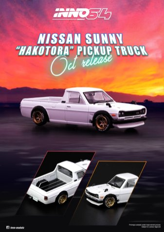 Inno64-Nissan-Sunny-Hakotora-Pickup-Truck-