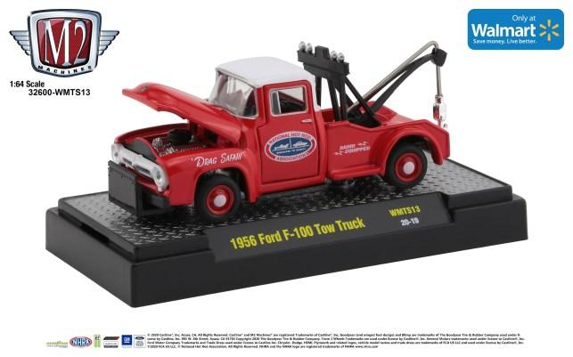 M2-Machines-NHRA-Walmart-1956-Ford-F-100-Tow-Truck