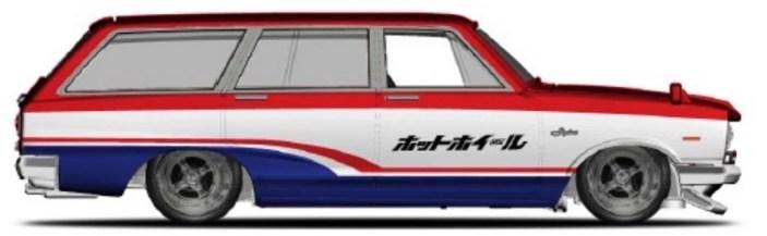 Hot-Wheels-2021-Car-Culture-Fast-Wagons-69-Nissan-Skyline-Van