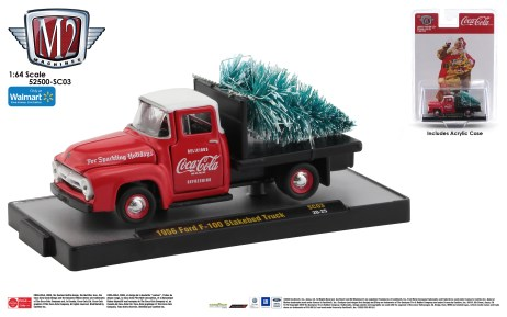 M2-Machines-Coca-Cola-Series-PB-02-1956-Ford-F-100-Stakebed-Truck