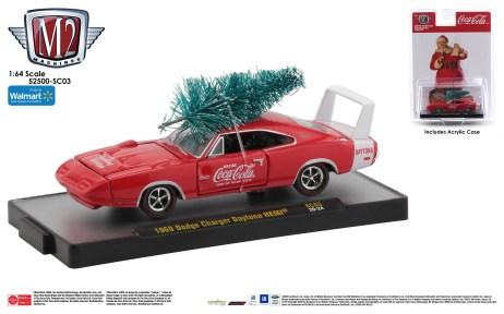 M2-Machines-Coca-Cola-Series-PB-02-1969-Dodge-Charger-Daytona-HEMI