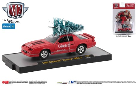M2-Machines-Coca-Cola-Series-PB-02-1985-Chevrolet-Camaro-IROC-Z