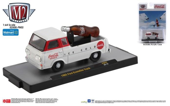 M2-Machines-Coca-Cola-Series-SC03-1965-Ford-Econoline-Truck