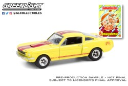 GreenLight-Collectibles-Garbage-Pail-Kids-Series-3-1966-Shelby-GT350-Shattered-Shelby
