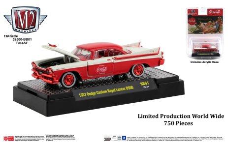 M2-Machines-Coca-Cola-1957-Dodge-Custom-Royal-Lancer-D500-Chase