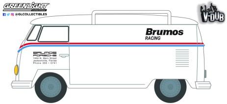 GreenLight-Collectibles-Club-Vee-Dub-Series-13-Volkswagen-Type-2-Panel-Van-Brumos-Racing