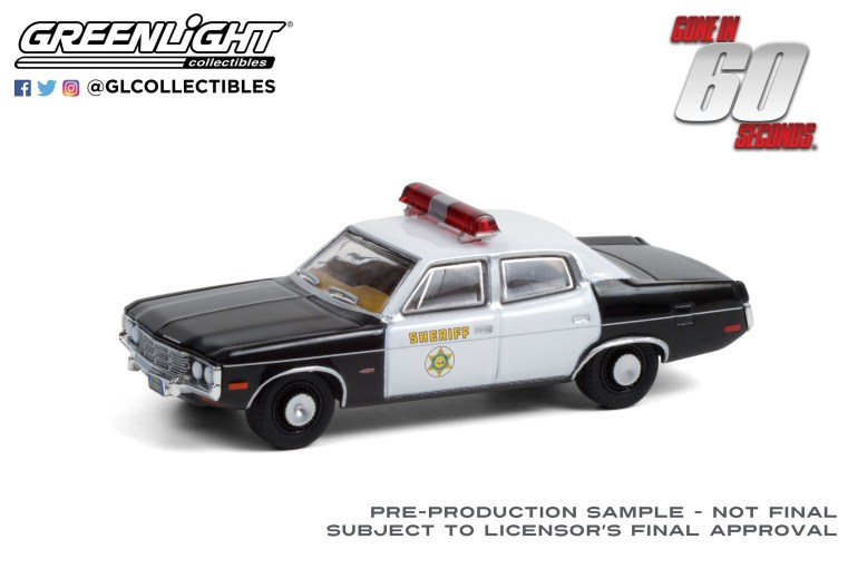 GreenLight-Collectibles-Hollywood-Series-31-1973-AMC-Matador-Gone-in-Sixty-Seconds