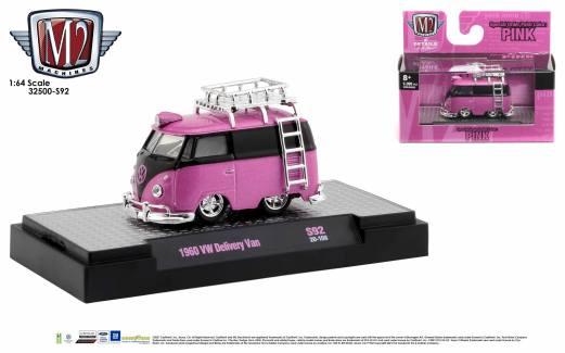 M2-Machines-All-Pink-Collection-1960-Volkswagen-Delivery-Van