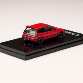 Hobby-Japan-Honda-Civic-Si-AT-1984-Customized-Version-Red-002