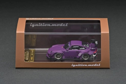 Ignition-Model-Resin-Porsche-RWB-993-Matte-Purple-003