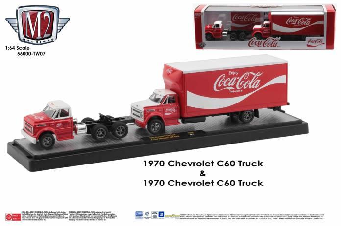 M2-Machines-Coca-Cola-Auto-Haulers-Chevrolet-C-60-Truck-bundle