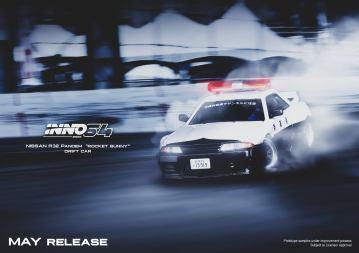 Inno64-Nissan-Skyline-GT-R-R32-Rocket-Bunny-Drift-Car-001