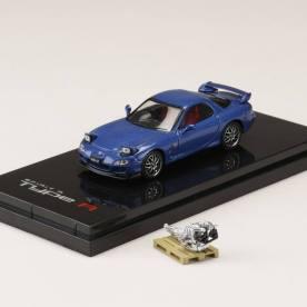 Hobby-Japan-Minicar-Project-Mazda-RX-7-FD3S-Spirit-R-blue