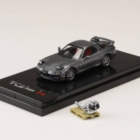 Hobby-Japan-Minicar-Project-Mazda-RX-7-FD3S-Spirit-R-gray